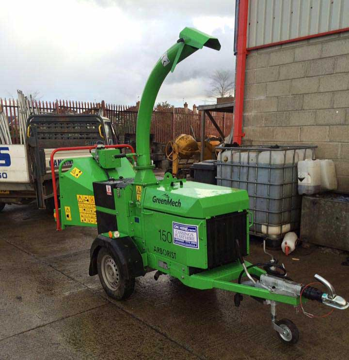 Machinery hire